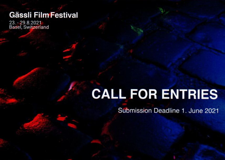 Call-for-Entries: Gässli Film Festival 2021